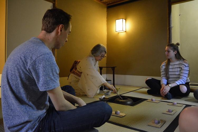 1 week tokyo Japanse theeceremonie
