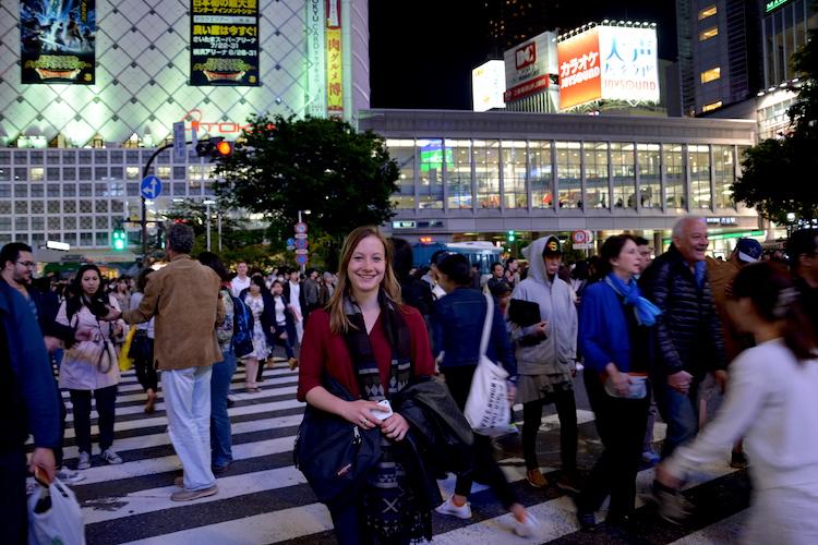 1 week tokyo Shibuya drukste kruispunt