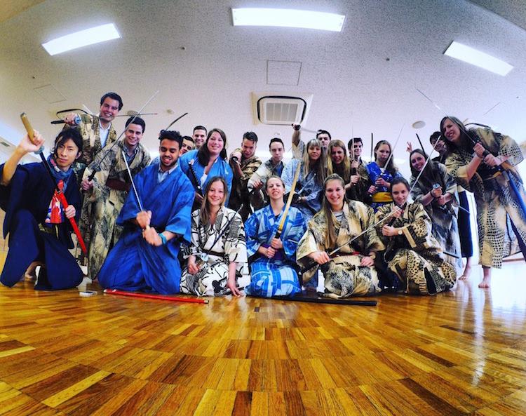1 week tokyo samurai workshop