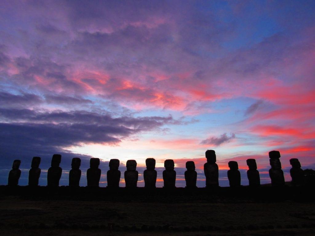 10 maanden wereldreis route landen paaseiland