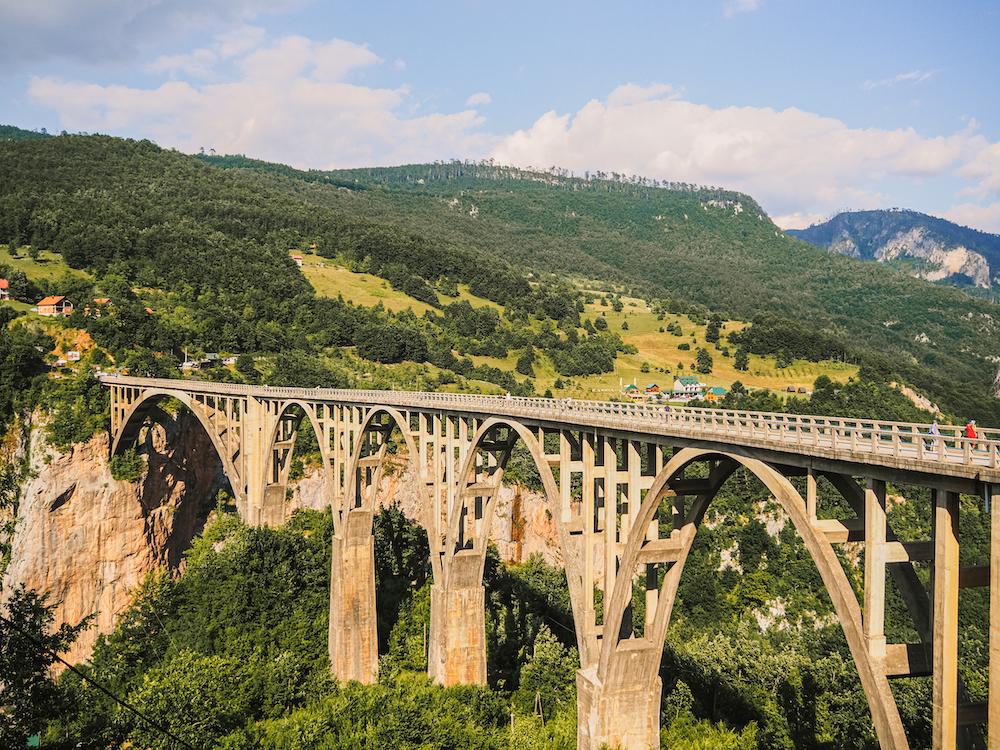 Bezienswaardigheden van Montenegro, Tara Bridge