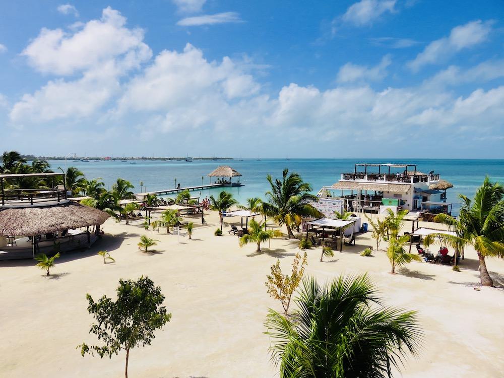 Relaxen op Caye Caulker, Belize