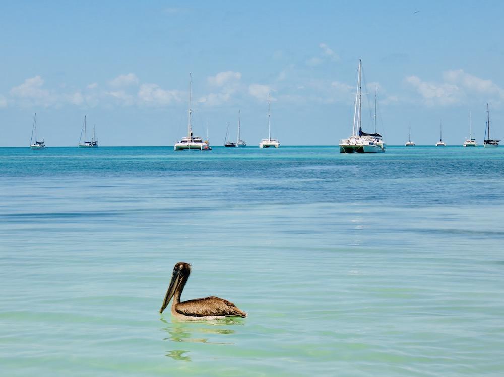 Belize vanaf het water