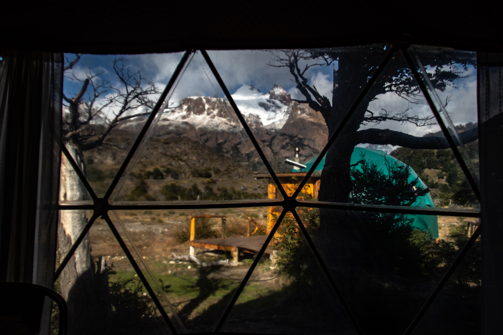 ecodome in patagonie
