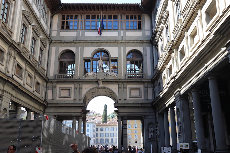 2. Uffizi wat te doen in florence stedentrip