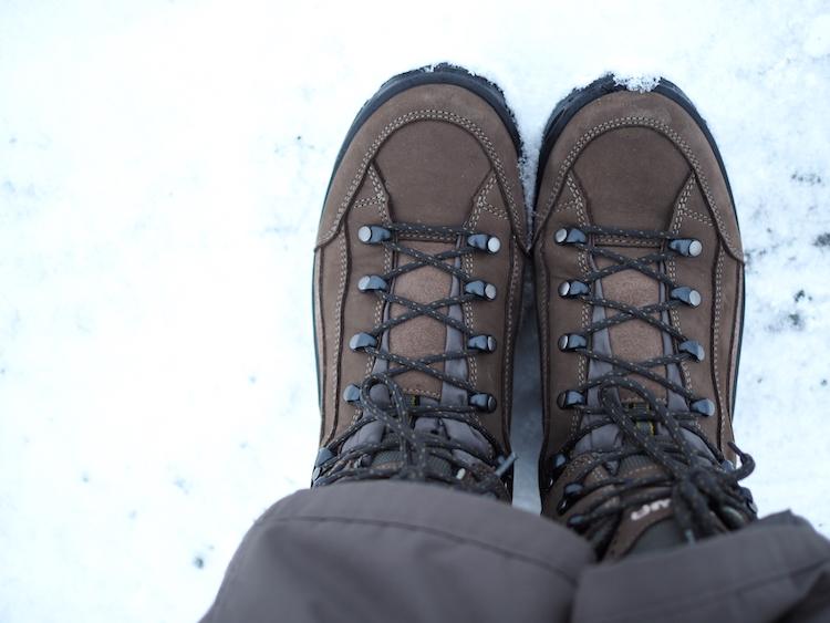 3 lagen systeem schoenen