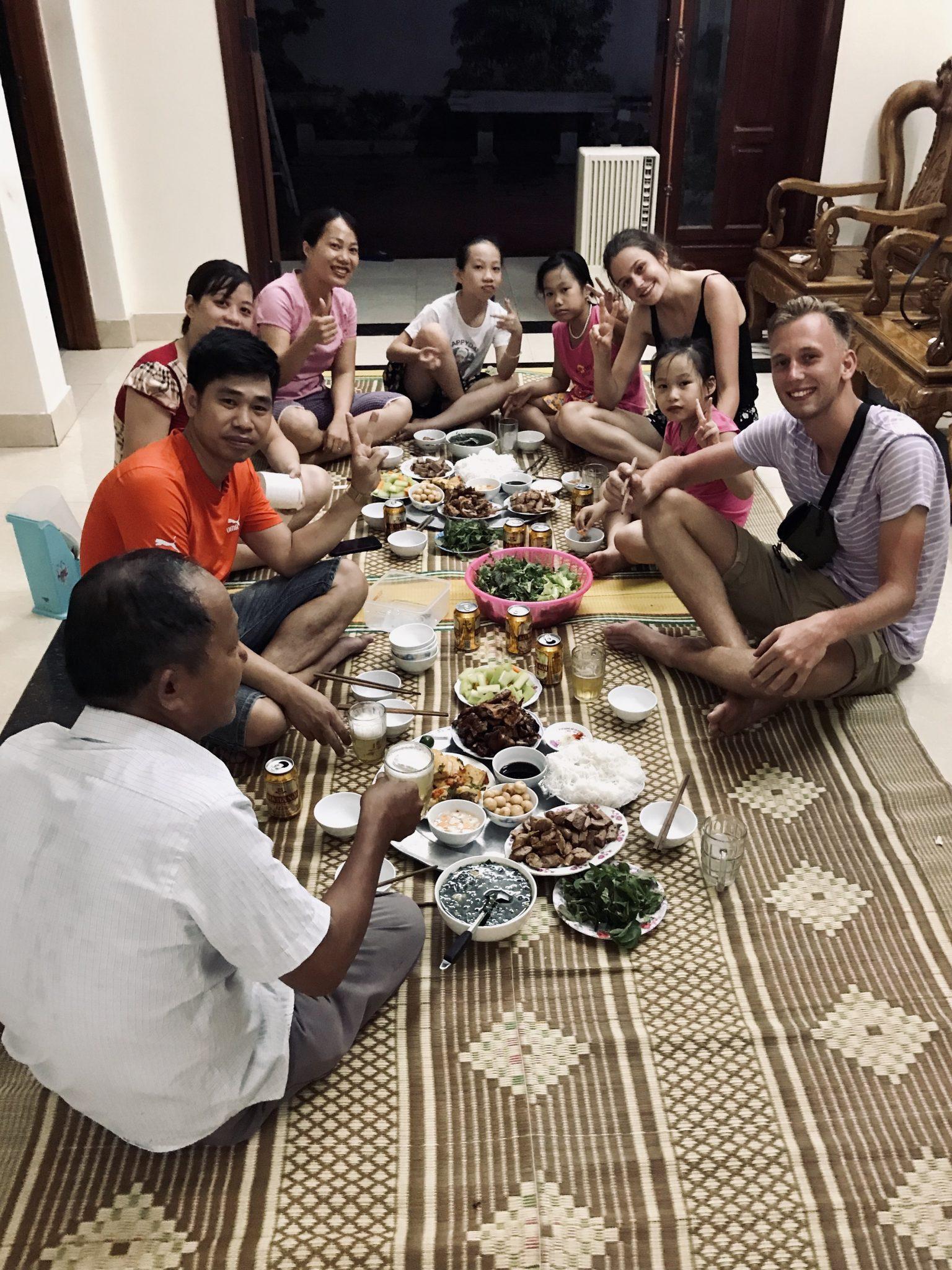 3 weken vietnam route thuis ninh binh