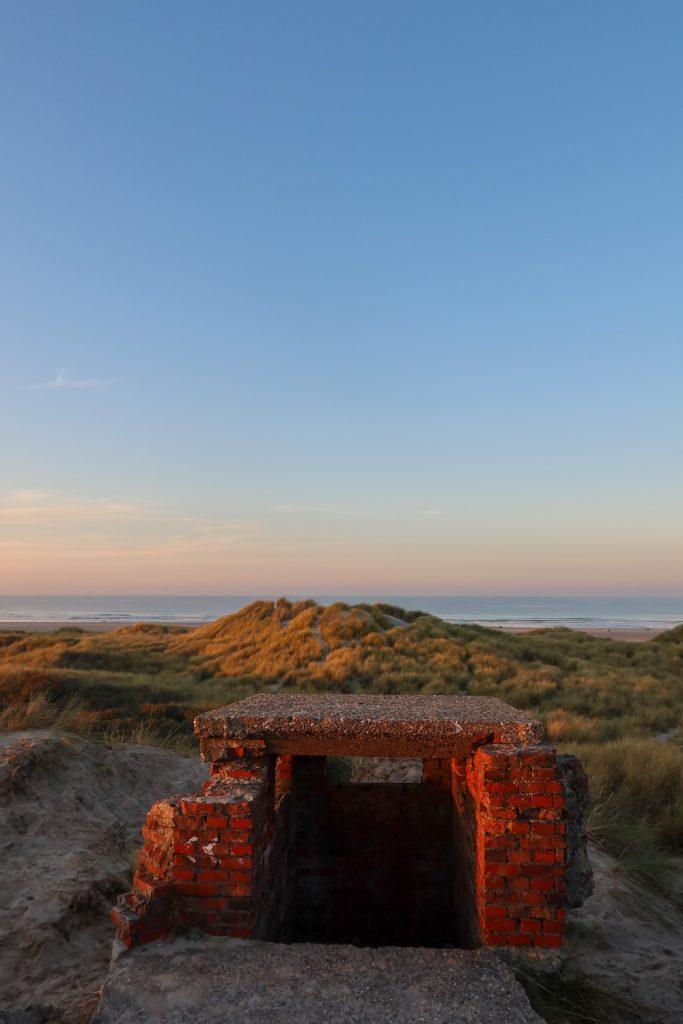 Natuur Terschelling - Bunkers bij Formerum 2