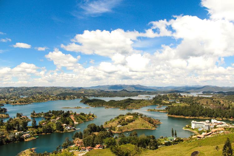 6 - COLOMBIA uitzicht backpackers