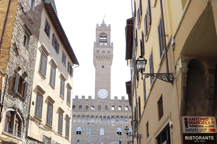 6. Palazzo Vecchio doen in florence