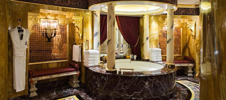 7 sterren hotel Burj Al Arab