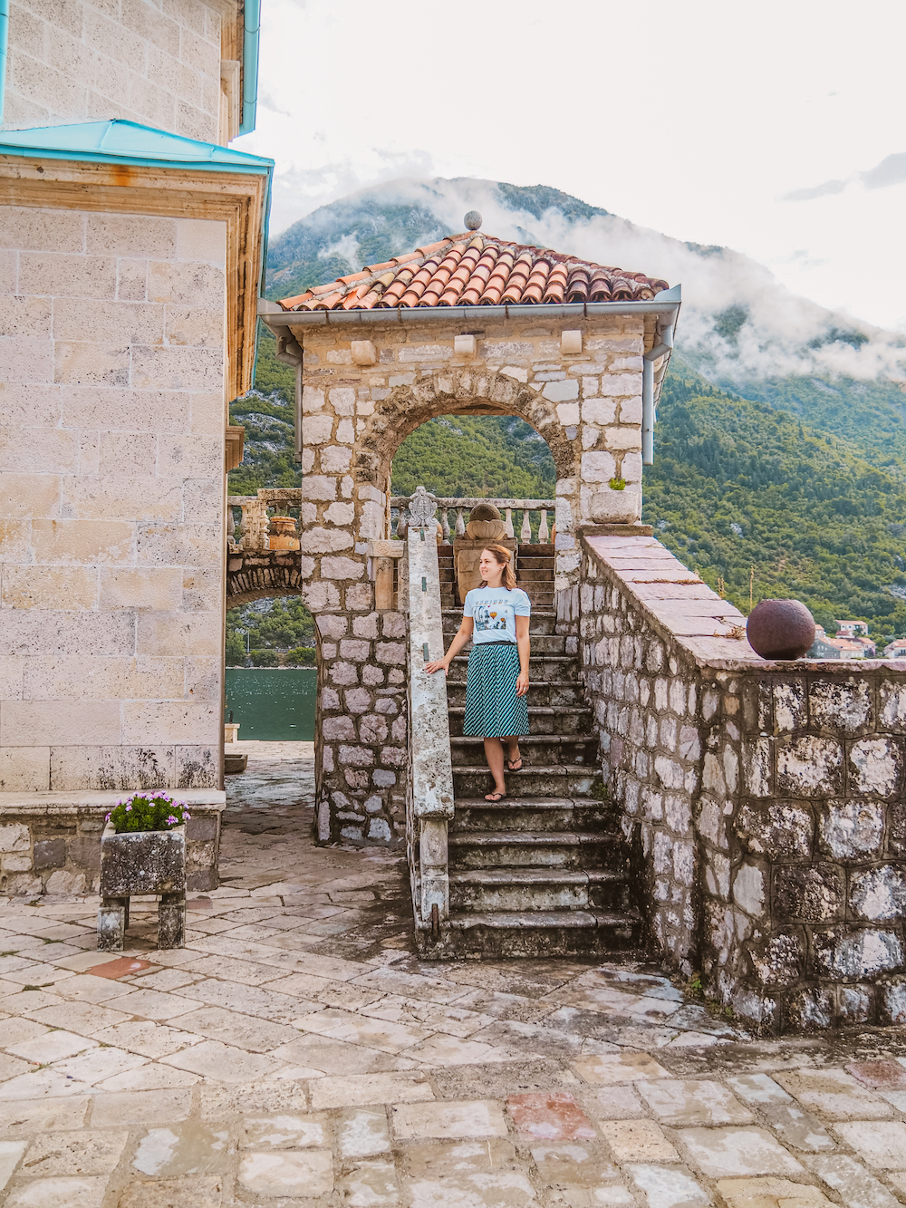 Lady of the Rock, Montenegro