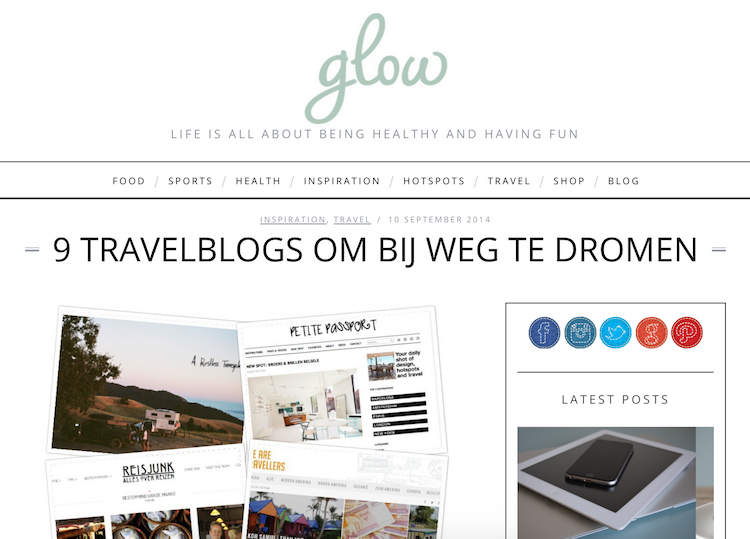 9 Travelblogs Glow Magazine