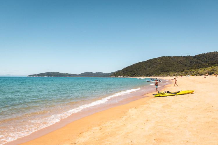Abel Tasman National Park Totoranui Beach nieuw zeeland