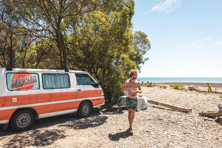Abel Tasman National Park camping