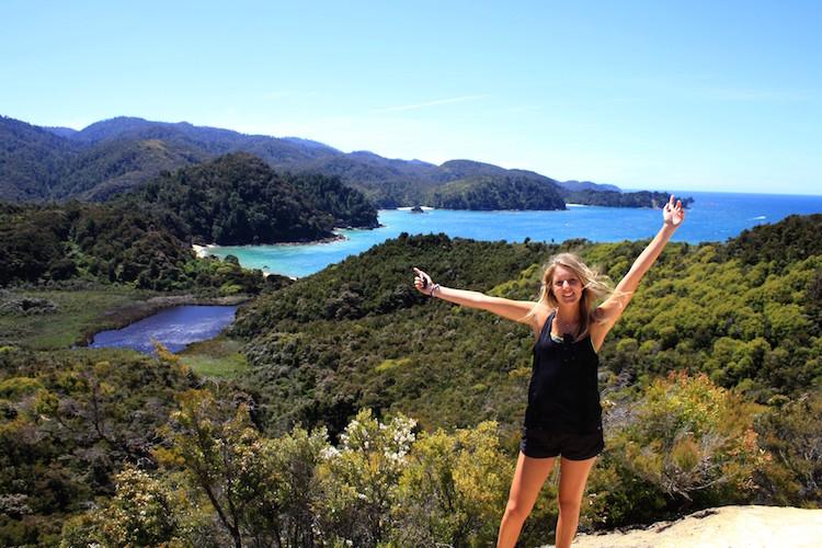 Abel tasman optie rondreis Nieuw Zeeland