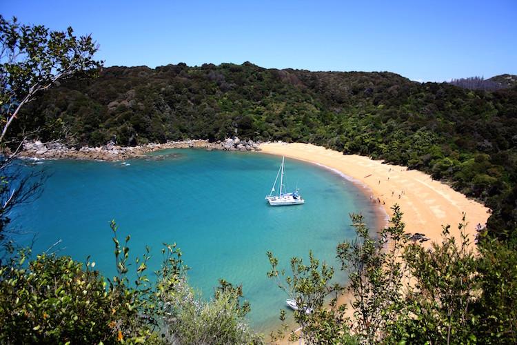 Abel tasman rondreis Zuidereiland