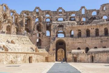 Activiteiten Tunesie amfitheater