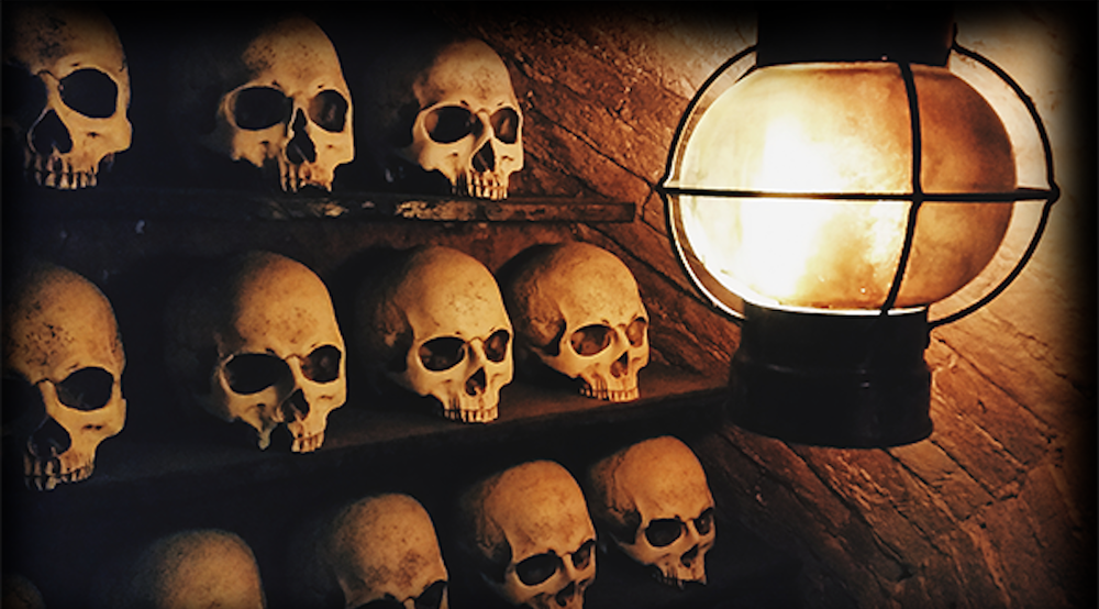 Escape room, the Amsterdam catacombs