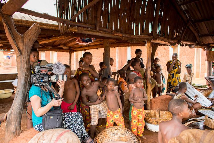Afrika benin werken videomakers reizen naar benin