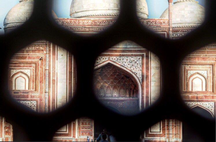 Agra india bouwwerk