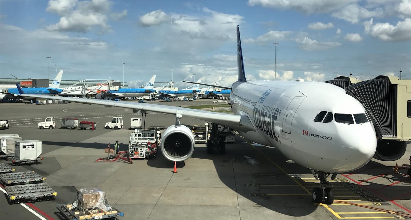 Air Transat vlucht naar Canada Business Class Upgrade