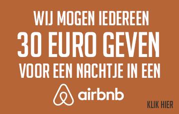 Korting op huren Airbnb