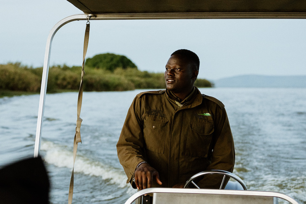 Akagera National Park Rwanda boottocht