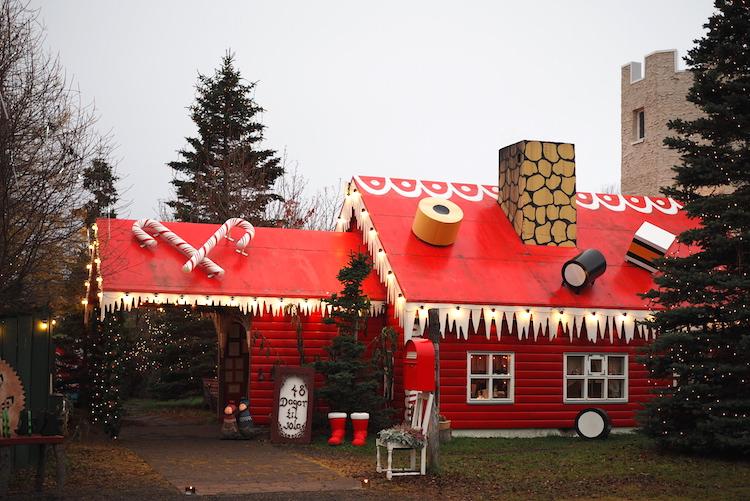 akureyri ijsland santas house