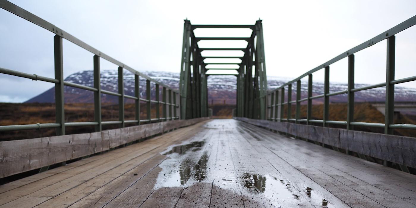 akureyri ijsland brug