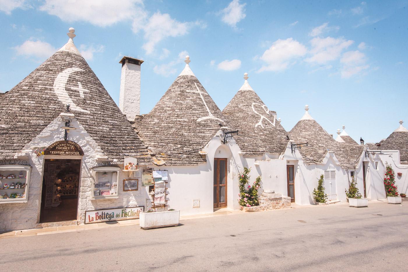 Alberobello tips puglia