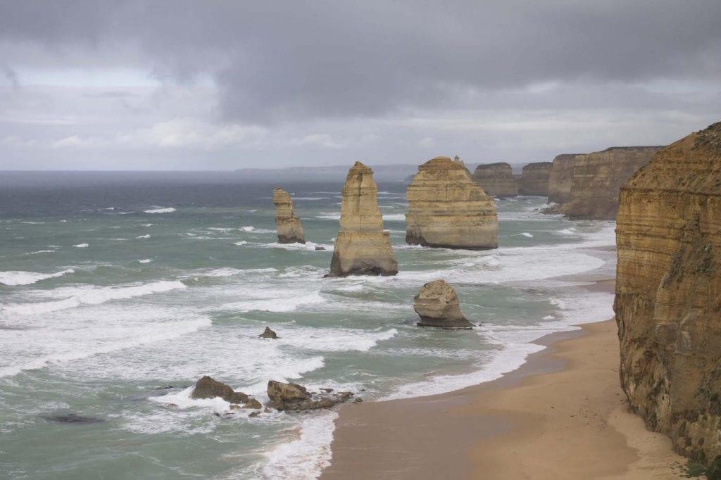 Alleen backpacken Australie 12 Apostels Great ocean road