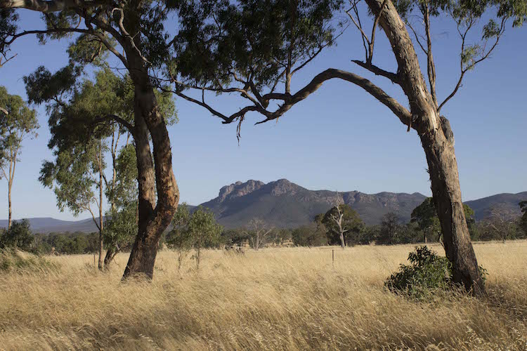 Alleen backpacken Australie The grampians