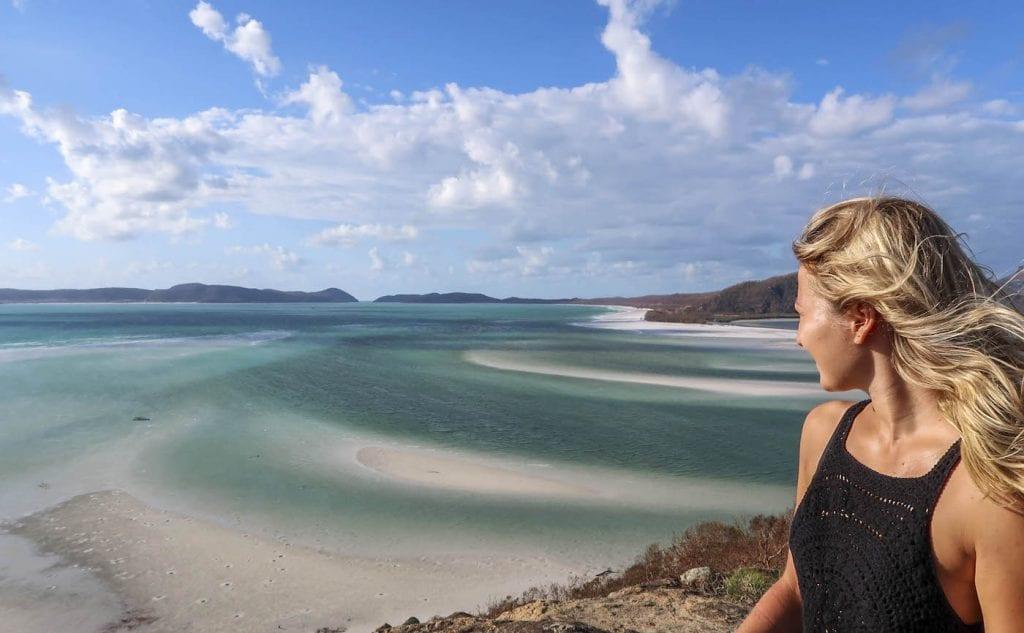 Alleen backpacken Australie whitsundays