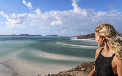 Alleen backpacken Australie whitsundays