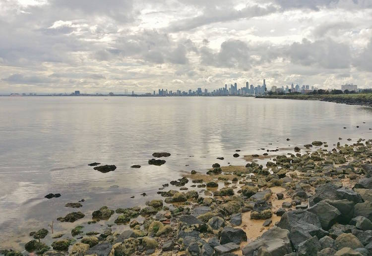 Alleen backpacken australie Melbourne skyline