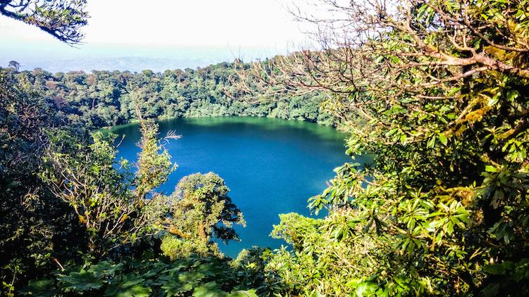 Alleen backpacken in Costa Rica Arenal - Cerra chato