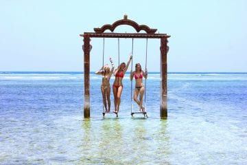 Alleen backpacken indonesie gili trawangan indonesie