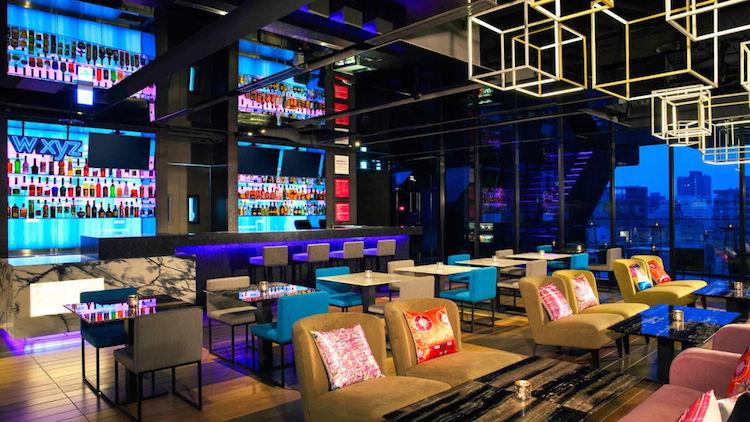 Aloft Hotel Taipei W XYZ bar Zhongshan