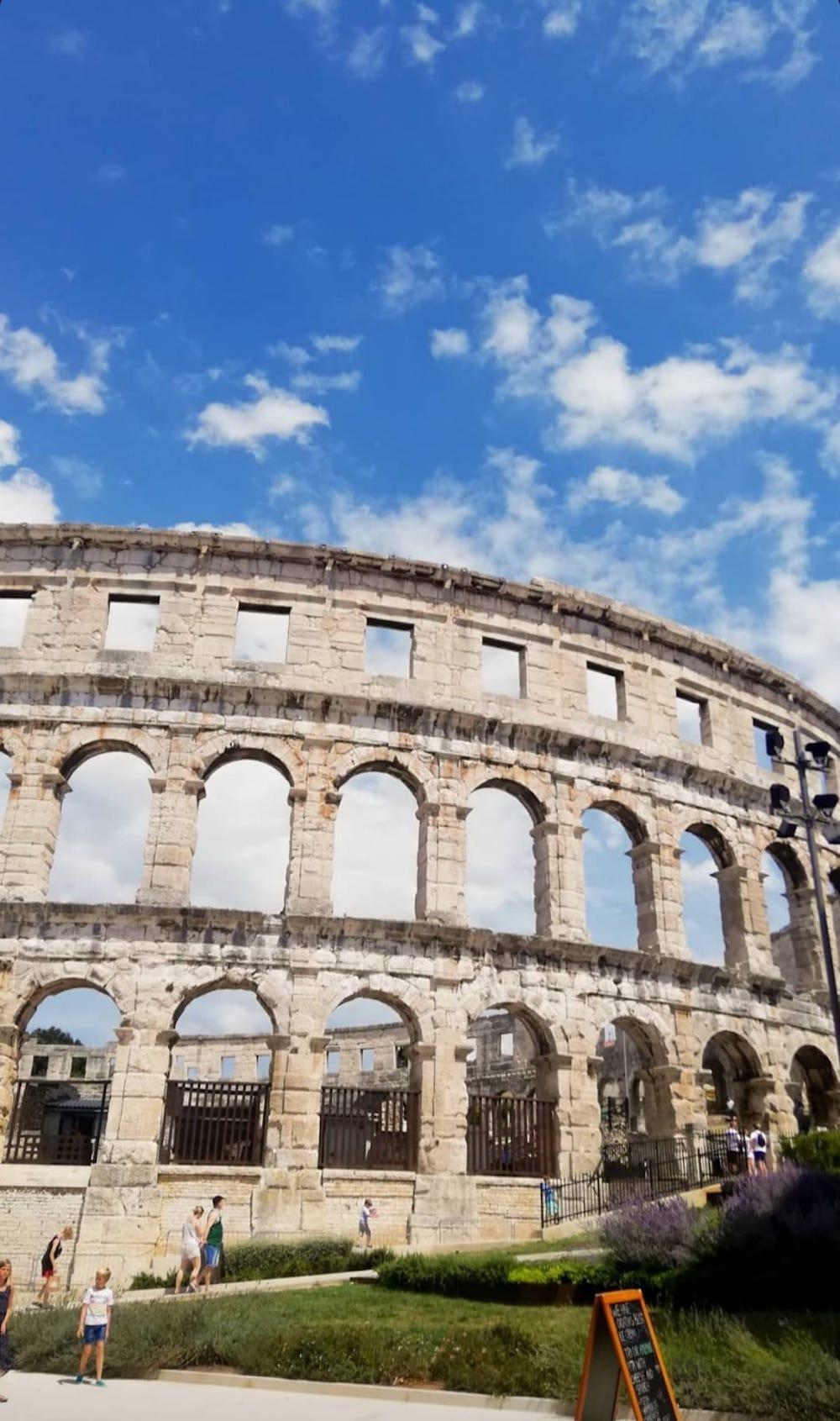 Amfitheater, bezienswaardigheden Istrië