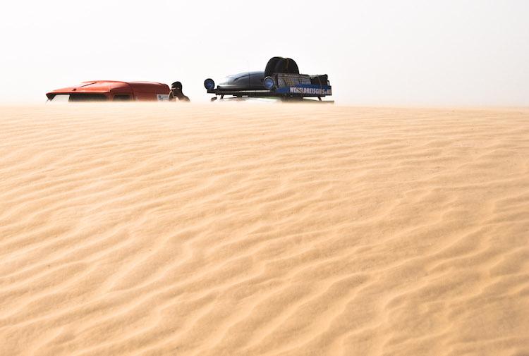 Amsterdam dakar challenge woestijn