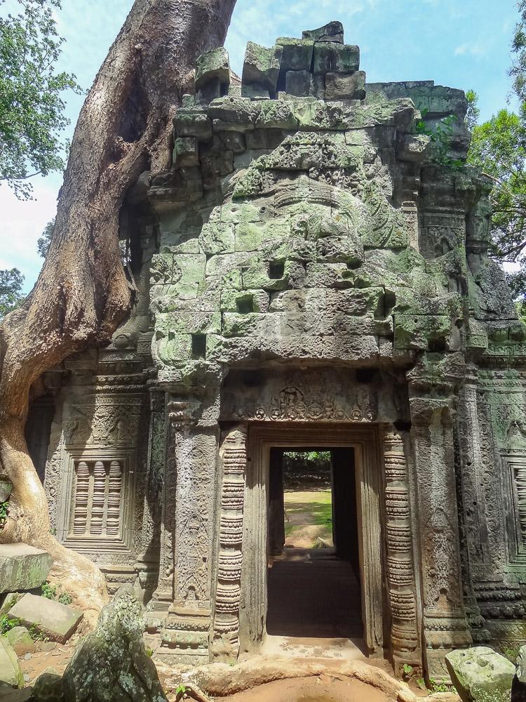 Angkor Wat tempel poort