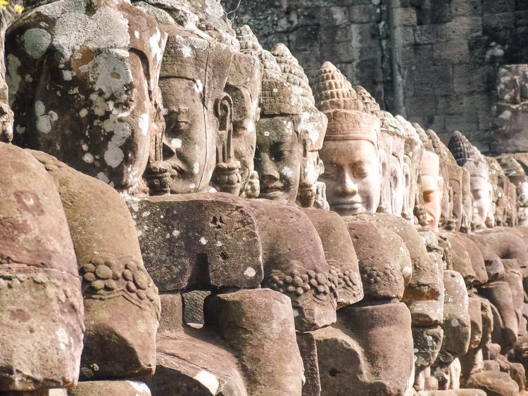 Angkor Wat tempels Cambodja