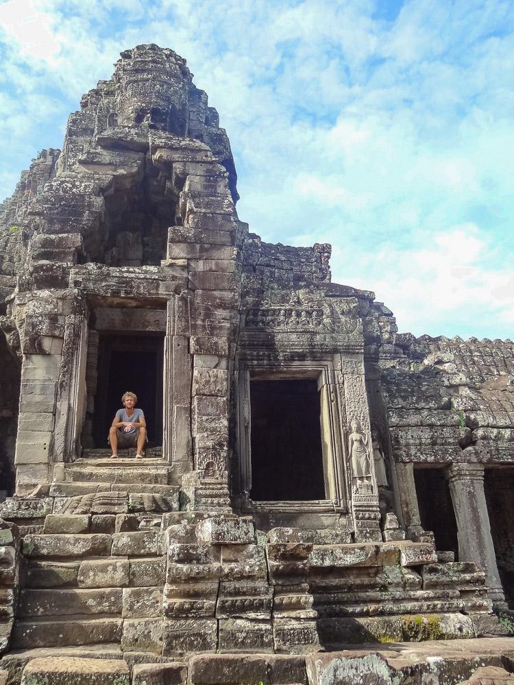 Angkor wat tempels bezoeken cambodja