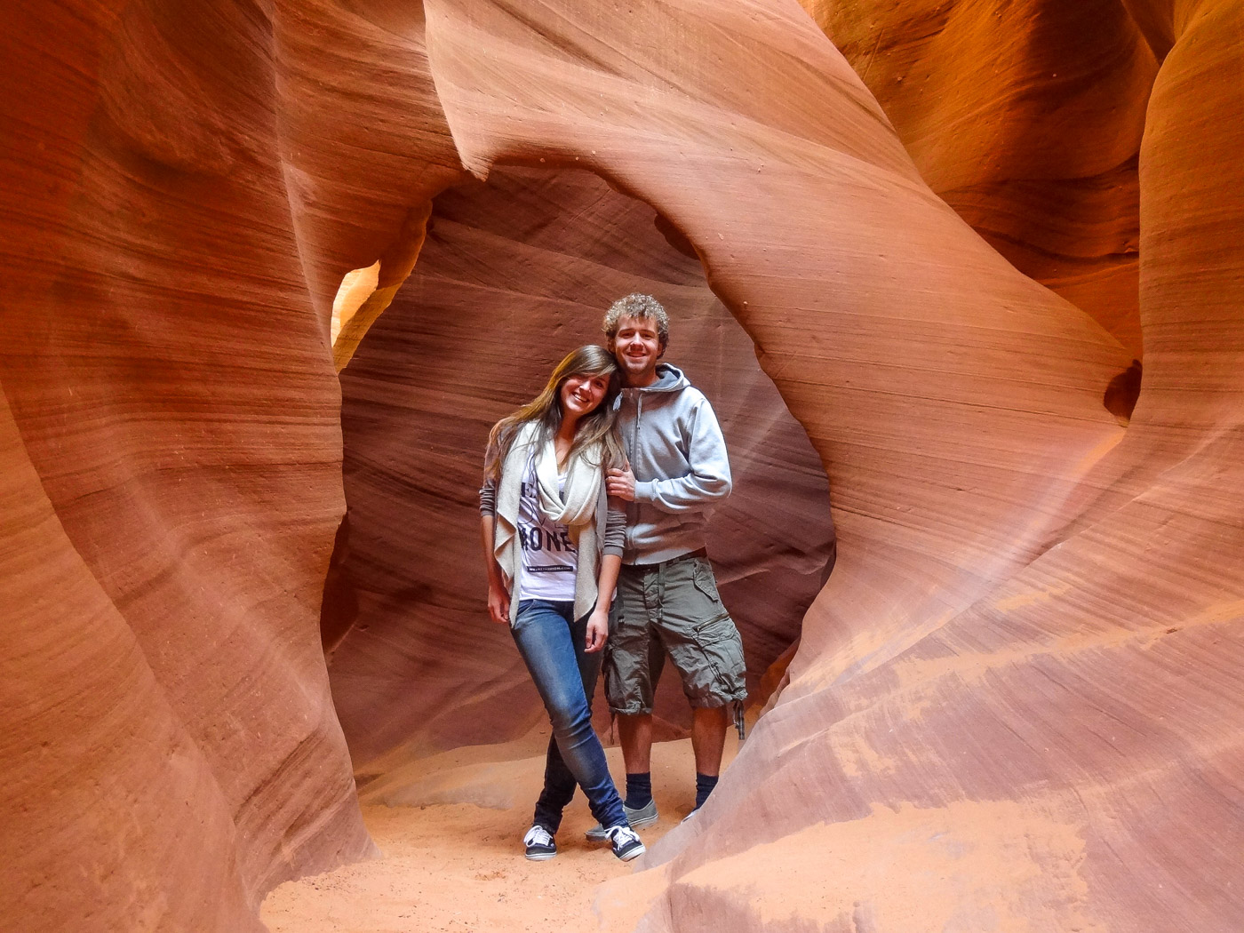 Antelope Canyon Lower wandeling-2