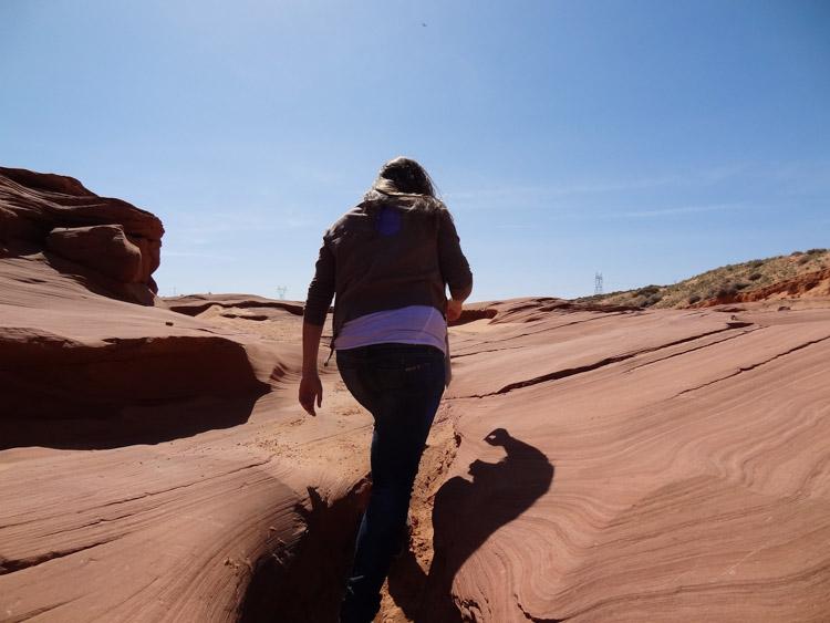Antelope Canyon tour entree lower antelope canyon