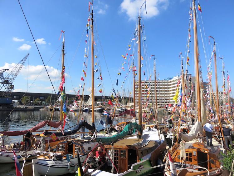 Antwerpen Festival met schepen