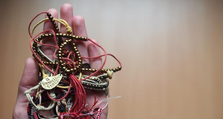Armbandjes kopen op reis