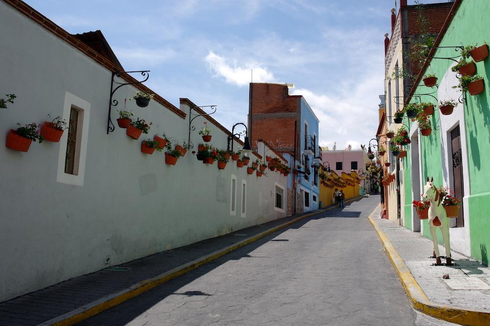 Atlixco route mexico