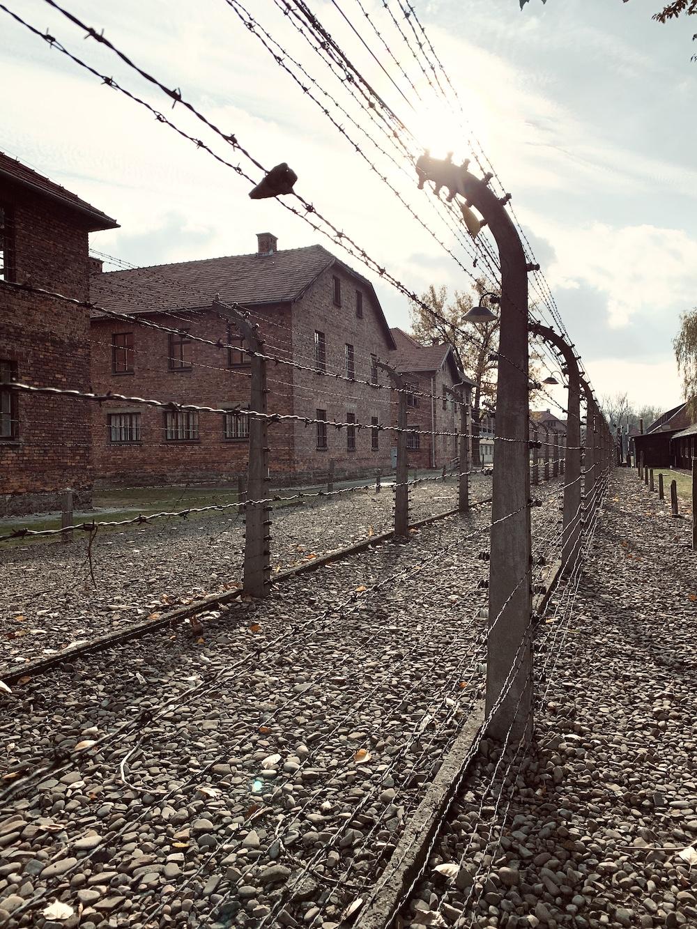 Auschwitz-Birkenau in polen